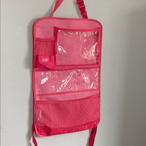 Thirty one pink backseat car organizer